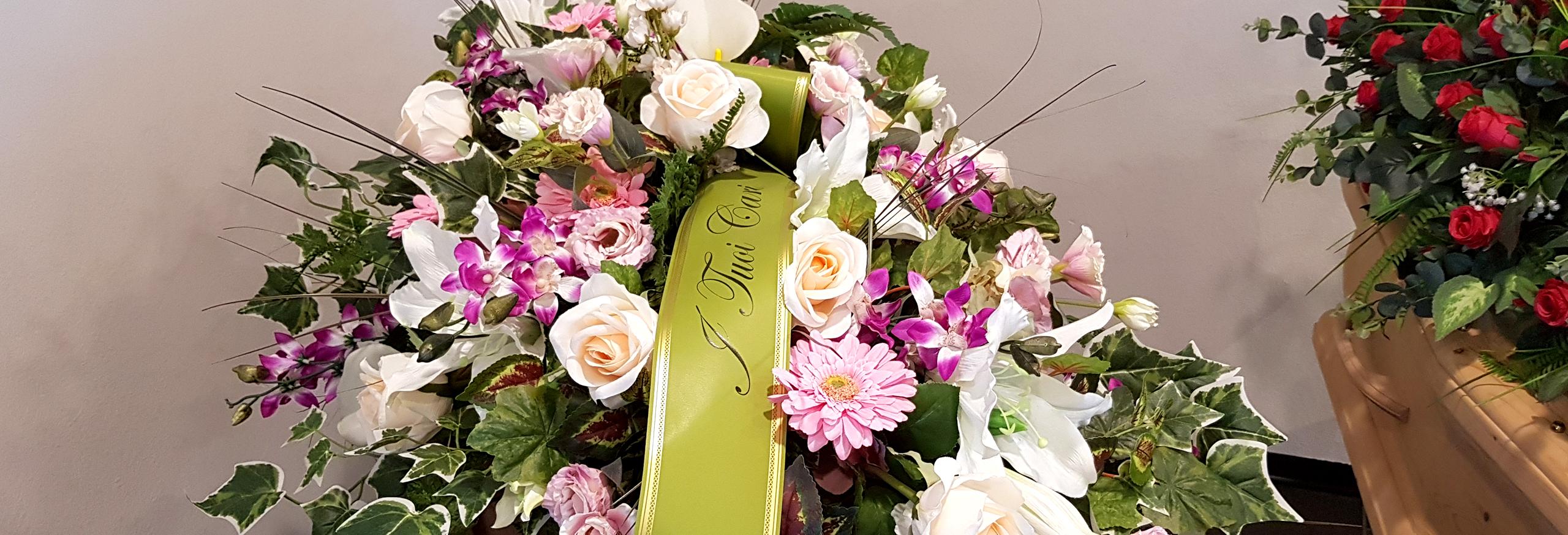 decorazioni floreali funebri bologna